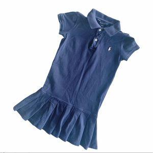 POLO RALPH LAUREN Girl's Navy Blue Dress